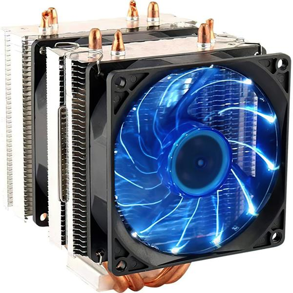 Cpu Cooler Doble Torre LED Blue