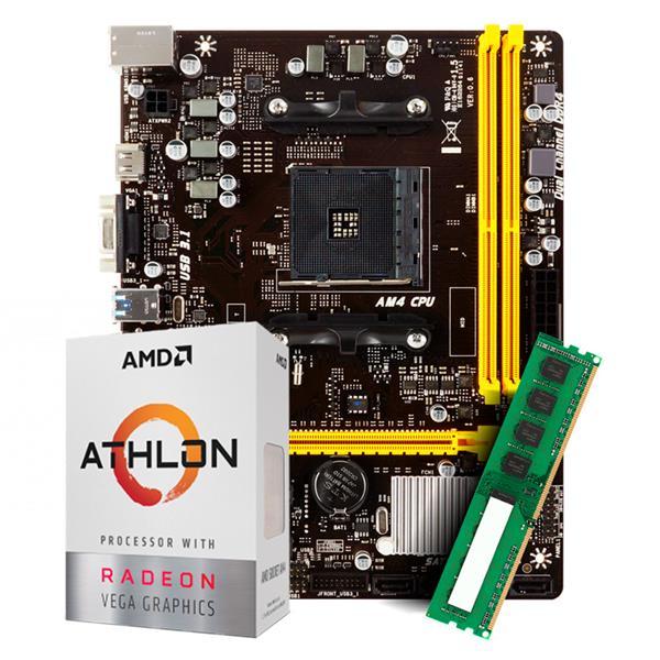 Combo Actualizacion AMD 3000G - A320 - 8GB