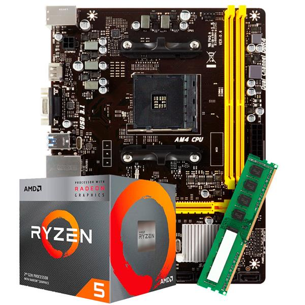 Combo Actualizacion AMD R5 2400G - A320 - 8GB