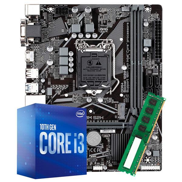 Combo Actualizacion INTEL I3 10100 - H410 - 8GB